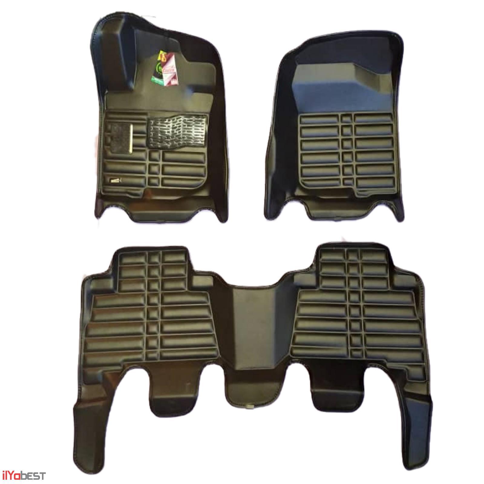 کفپوش پنج بعدی نیوسلست دوپلاک مناسب برای تویوتا پرادو Toyota Prado 2012